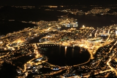 Bergen by Night - View from Mount Ulriken