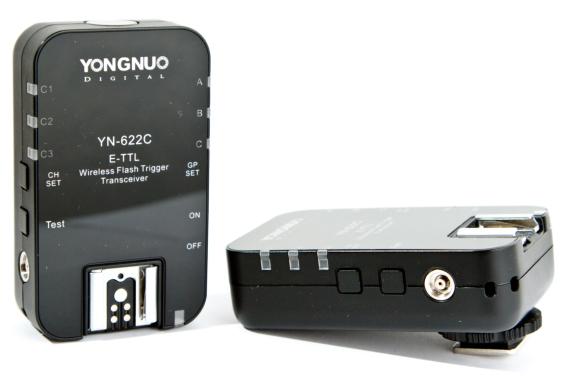Yongnuo YN622C-TX   E-TTL Wireless flash Controller x1  More info: http://www.hkyongnuo.com User Manual: Yongnuo YN622C-TX The Other YN-622C User Guide v.4.12 The Other YN-622C User Guide II v.5.12(Mirror: Click here)  Yongnuo YN622C II   E-TTL Wireless Flash Trigger Tranceiver…