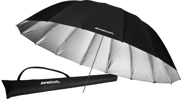 Westcott 7′ Parabolic Umbrella (Silver)