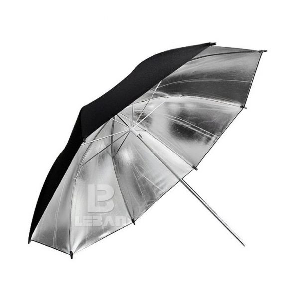 Godox Studio Flash Black Silver Reflector Umbrella