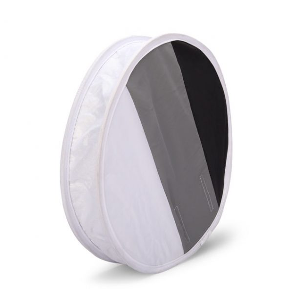 2 in 1 30cm 18%Gray card for White balance Card Board Round Flash Diffuser Softbox    Features:  Diameter 31 cm It's not only a flash diffuser,but can also be a gray card. On one hand,…