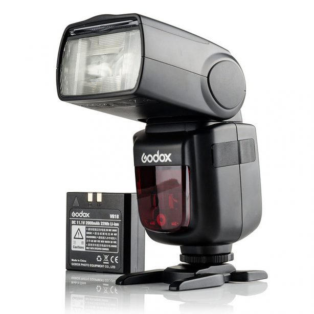 Godox Ving V860IIC for Canon EOS Cameras guarantees better light shooting experience with built-in Godox 2.4G wireless X system