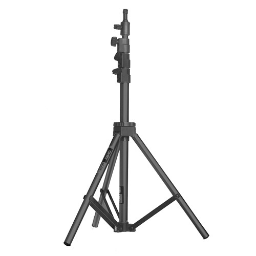 Made from non-reflective, the LC210 Air-Cushioned Light Stand from Giottos is made from heavy duty anodized aluminum tubing with each section fully air-cushioned to provide maximum safety for sensitive lighting…