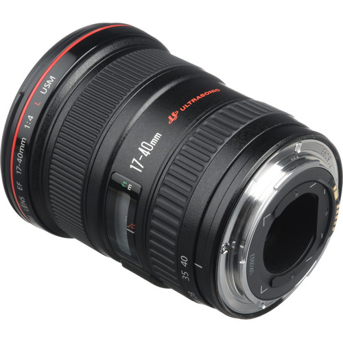 "The EF 17-40mm f/4L USM Lens from Canon is a high quality ""L"" series wide angle zoom lens for full frame and APS-C size DSLR cameras. It combines one high-precision molded…"