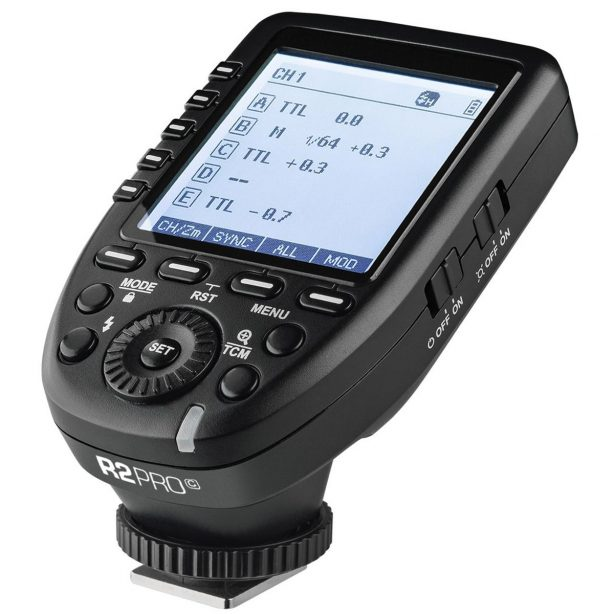 The very much anticipated Godox XPro-C, TTL and HSS enabled transmitter unit for Canon DSLR's are now available for pre-order.