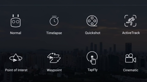 Overview of the DJI Intelligent Flight Modes